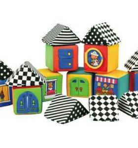 Новые мягкие кубики K's Kids