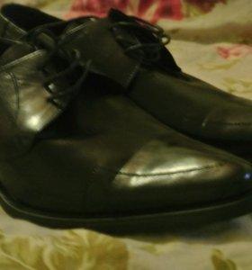 Ботинки для мальчика нат.кожа Новые
