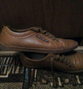 Ботинки-кеды мужские