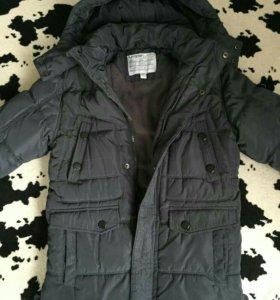 Куртка удлиненная зимняя 128