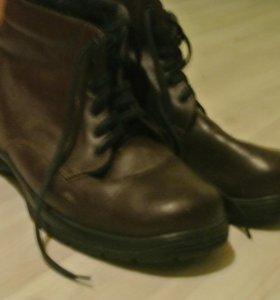 Зимние мужские ботинки Б/у