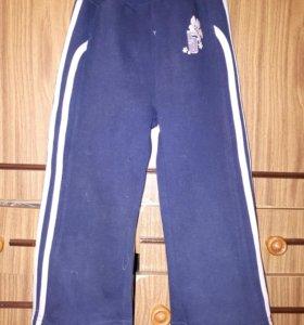 Спортивные брюки для девочки 3-4лет