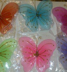 Бабочки на булавке