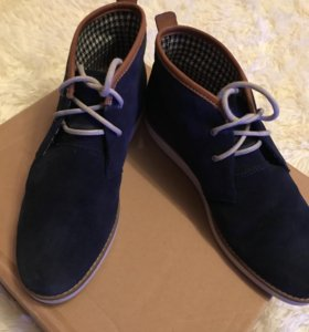 Замшевые ботинки Fred Perry