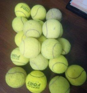 Мячи тенисные