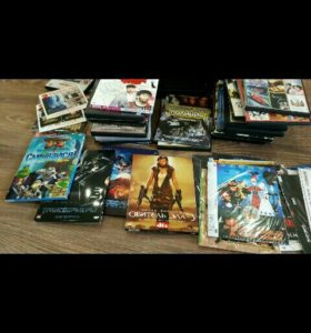 DVD диски коллекция, мультфильмы, кино.