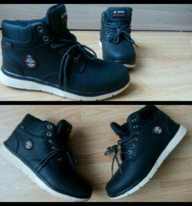 Новые зимние ботинки!