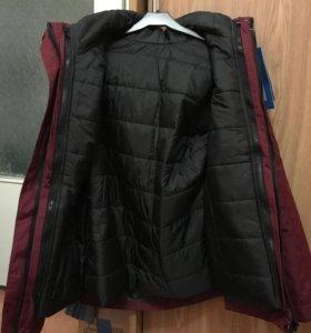 Куртка зимняя 2в1. Всесезонная