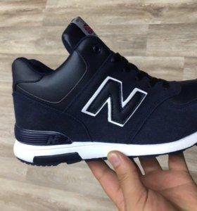 New Balance кроссовки мужские зима