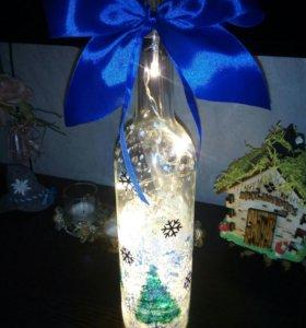 Светильник hand-made