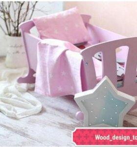 Кроватки для кукол