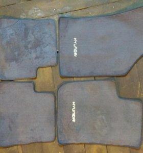 Оригинальные коврики салона Hyundai Getz