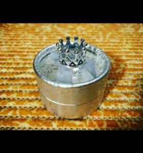 Золотое кольцо корона эксклюзив