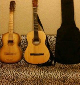 2 гитары+чехол в подарок