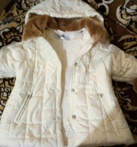 Модная курточка для принцессы