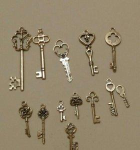 Ключики для декора