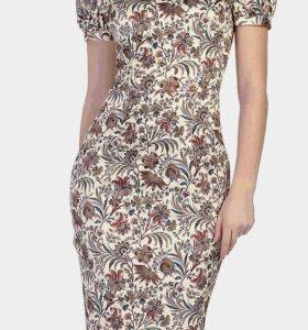 Новое платье из хлопка-сатина