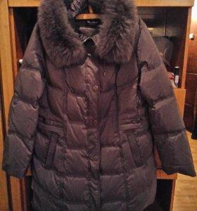 Куртка- пальто женское зимнее