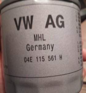 Фильтр масляный Volkswagen