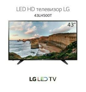 Телевизор LED HD LG 43LH500T