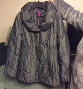 Куртка демисезонная женская р 46