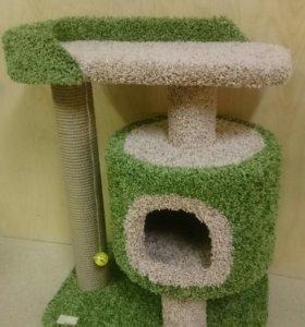 Домик с когтеточкой для кошки