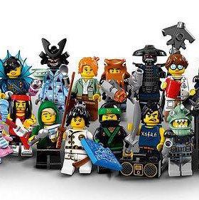 Фигурки Лего ниндзяго фильм