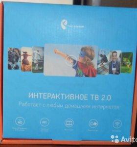 "Телевизионная приставка ""Ростелеком"" с Wi-Fi"