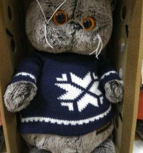 Игрушка кот Басик в свитере