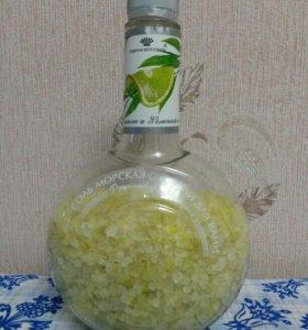 Морская соль с пеной для ванн