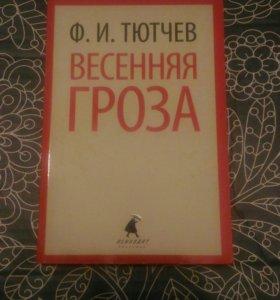 Сборник стихов Ф.И.Тютчева