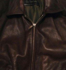 Мужская кожанная куртка.