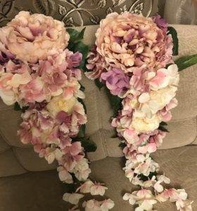 Украшения для свадьбы, декор, цветы