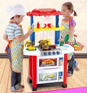 """Детская кухня """"Little Chef"""" 33 элемента. ОРИГИНАЛ!"""