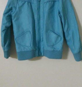 Куртка весна на девочку 116