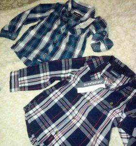 Новые рубашечки можно и для близнецов.