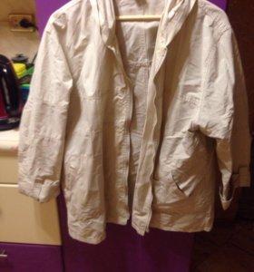 Лёгкая женская курточка, 56-58, бу