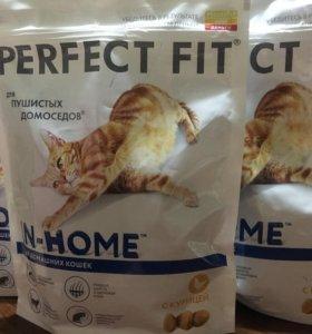 Сухой корм для кошек Perfect Fit.