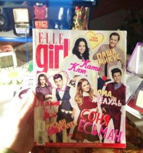 Журнал ELLE GIRL с видеоблоггерами