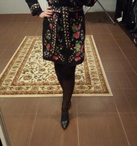 Пальто весна-осень, 44-46 размер