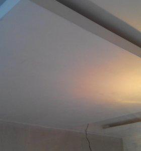 Потолки конструкции из гипсокартона любые.
