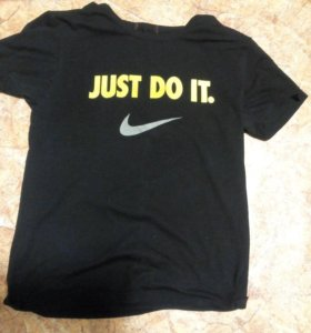 Футболка Just do it(черн)