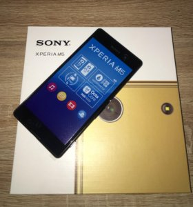 Телефоны Sony Xperia M5 3/16gb. 21,2Мп