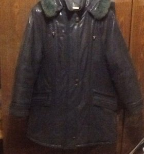 Куртка женская зима 54-56 Новая