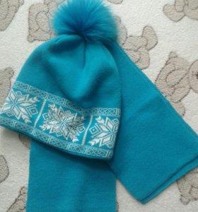 Комплекты шапка-шарф