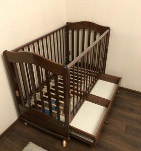 Детская кроватка Гондылян-Ванечка (качалка)