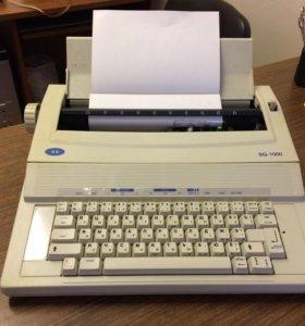 SAMSUNG печатающая машинка Made in Japan