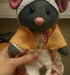 Мышонок - поварёнок (ручная работа)