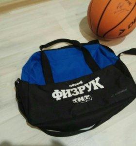 Мяч с подписью Дмитриева Нагиева + сумка