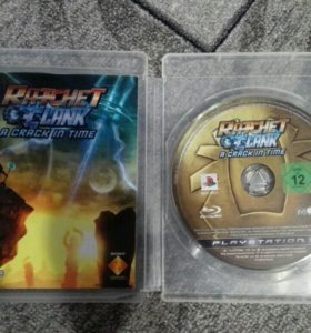 Ratchet & Clank: A crack in time (игра PS3)